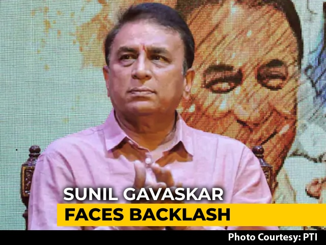 Video : Gavaskar's Big IPL Sexist Gaffe
