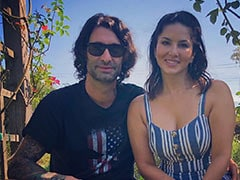 """A Pic From Sunny Leone And Daniel Weber's """"Quality Time"""" In Los Angeles"""