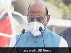 अन्नदाता से राजनाथ सिंह की अपील- किसानों का अहित नहीं होने देंगे PM मोदी