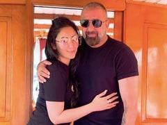 """Never Quit"": On Maanayata's Post For Sanjay Dutt, Trishala Drops Blue Hearts"