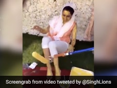 Watch: A Socially Distanced <i>Haldi</i> Ceremony With Paint Rollers Amid Covid Pandemic