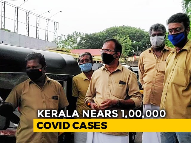 Video : Income Severely Curtailed, Kerala Autorickshaw Drivers Brave Pandemic