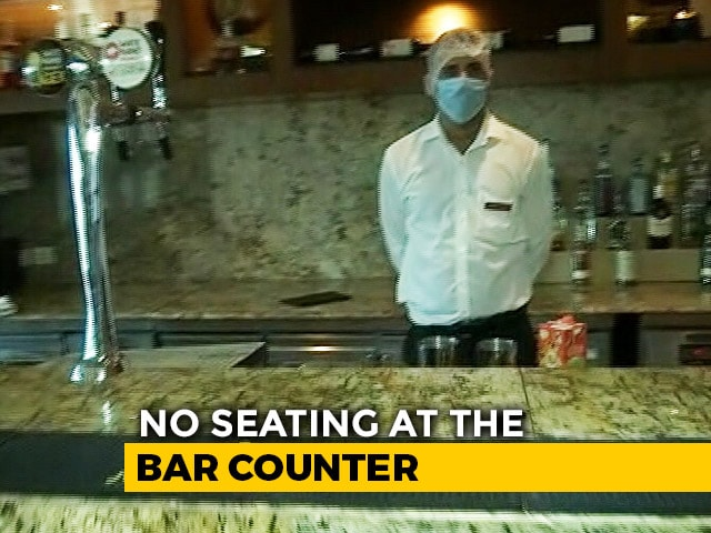 Video : Amid Surge In Covid Cases, Delhi Bars Re-Open On Trial Bases