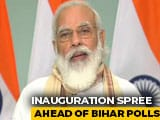 Video : PM Modi Inaugurates Rail Projects For Bihar; Slams Previous Government