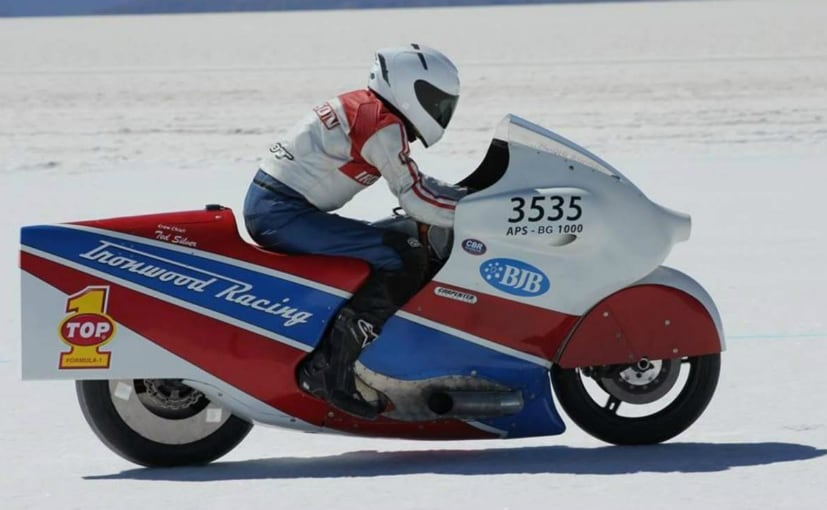 Hudson was involved in a high speed crash while attempting a new record at Bonneville
