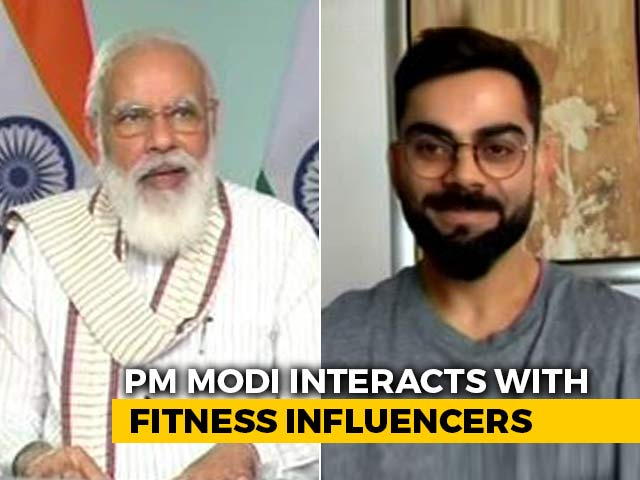 "Video : PM's ""Delhi's <i>Chhole Bhature</i>'s Loss"" Joke In Chat With Virat Kohli"