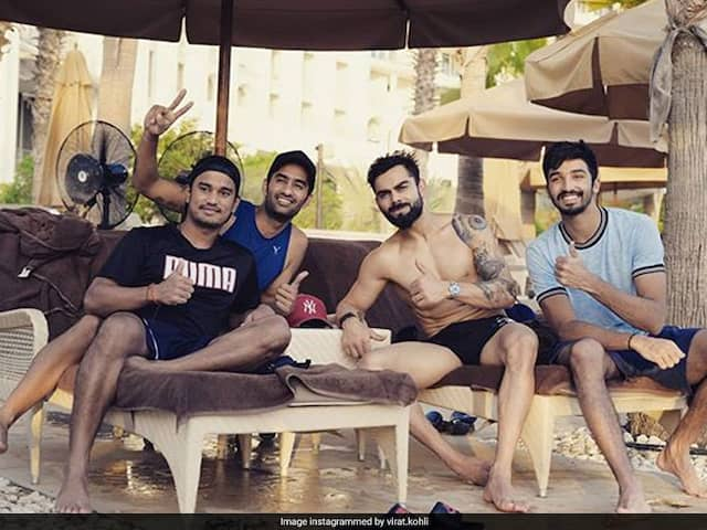 """Proper Day At The Pool"": Virat Kohli Chills Out With Teammates In UAE Heat"