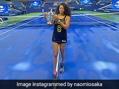 US Open Champion Naomi Osaka Attends Post-Match Press Conference Wearing Kobe Bryant Jersey