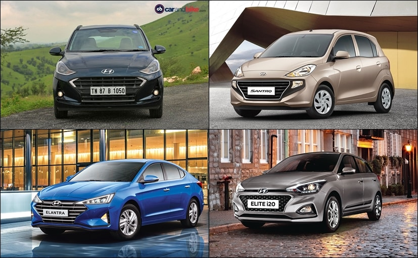 Hyundai India is offering discounts on selected models only