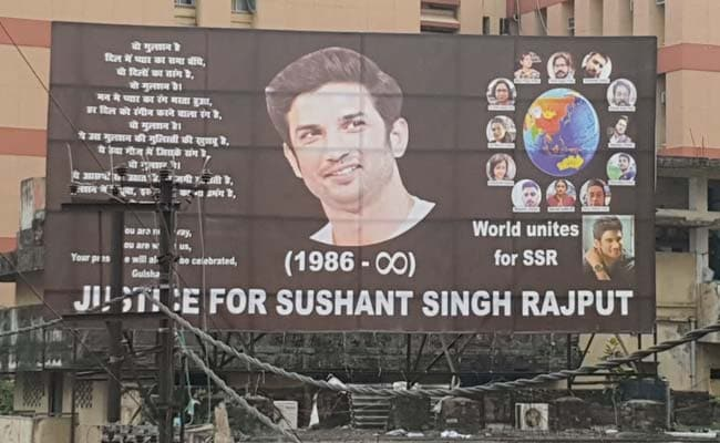 Sushant Rajput Posters In Poll-Bound Bihar; BJP Insists 'No Politics'