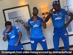 """Bade Touchey Ho Rahe Ho"": Yuzvendra Chahal Trolls Shikhar Dhawan's Dance Video"