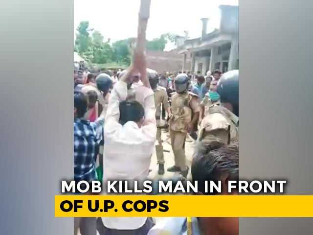 Video : Murder-Accused Beaten To Death In Presence Of Cops In UP