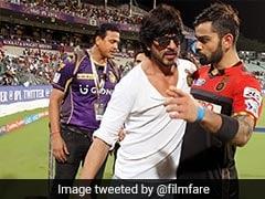 जब शाहरुख खान के साथ आक्रामक मूड में दिखे थे विराट कोहली, KKR के मैच से पहले वायरल हुई Photo