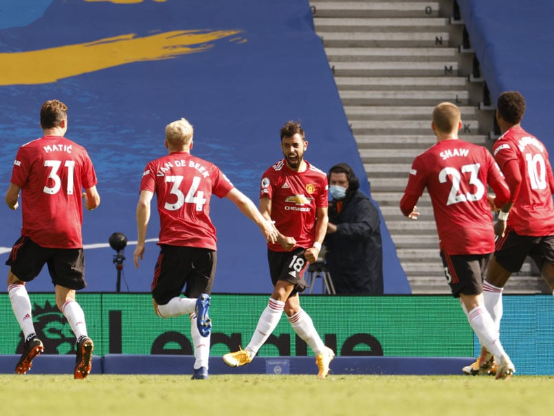 Bruno Fernandes' 100th Minute Penalty Hands Manchester United Win At  Brighton   Football News
