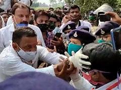 कमलनाथ के इलाके में कांग्रेस नेता ने एसडीएम के चेहरे पर कालिख पोती