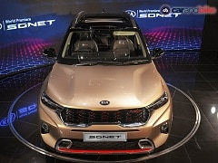 Kia Sonet Production Begins; Company Rolls Out First Customer Car From Anantapur Plant