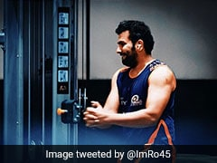 "IPL 2020: ""Hit The Gym Like It's A Short Ball"": Rohit Sharma Get Into Serious Action Ahead Of Tournament"