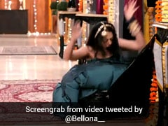 Woman Falls, Gets Trapped In Suitcase. Bizarre TV Scene Trolled On Twitter