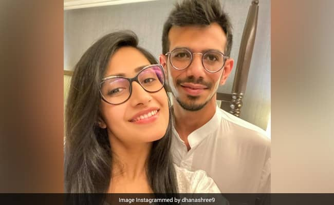 Yuzvendra Chahal Fiance Dhanashree Verma shares pic and says exciting coming your way, cricketer react on it
