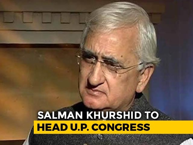 Video: Congress 'Dissenters' Not On UP Poll Teams, Salman Khurshid Gets Key Job