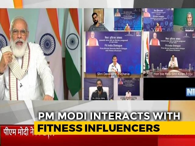 Video : Fit India Dialogue Highlights: PM Modi Interacts With Milind Soman, Virat Kohli