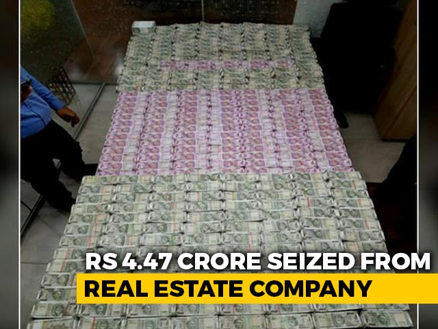 Video : Rs 4.47 Crore Seized From Real Estate Company In Hyderabad