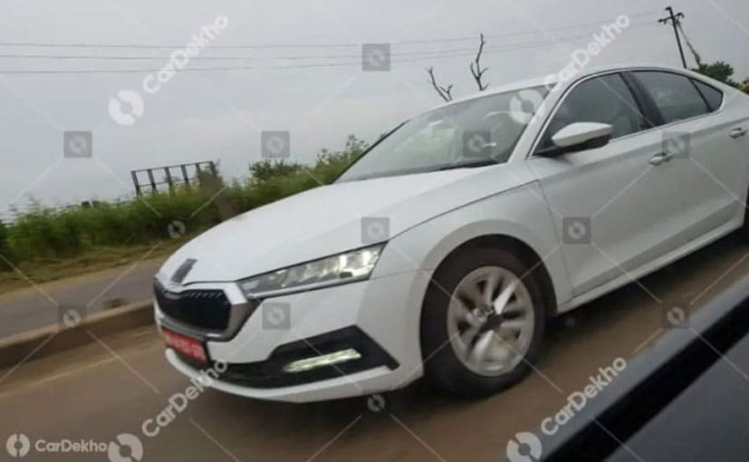 The 2021 Skoda Octavia gets a new front end that sports a new grille and bumper.