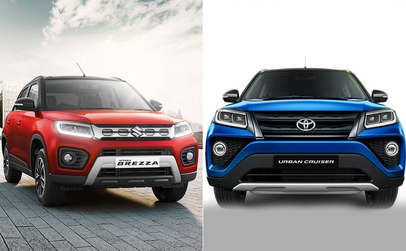The Toyota Urban Cruiser is essentially a re-badged Maruti Suzuki Vitara Brezza.