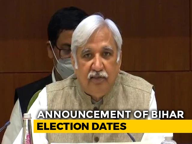 Video: Bihar Votes On October 28, November 3, 7; Results On November 10