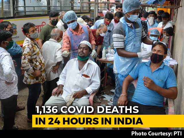 Video : India's Coronavirus Cases Cross 48 Lakh, 1,136 New Deaths In A Day