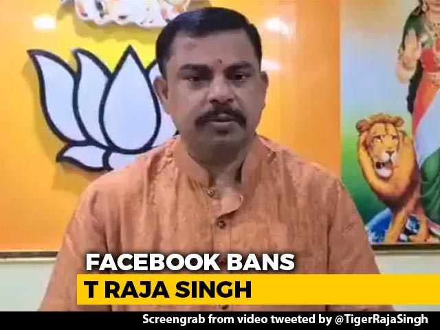 Video : Facebook Bans BJP MLA Named In Report That Sparked Hate Speech Row