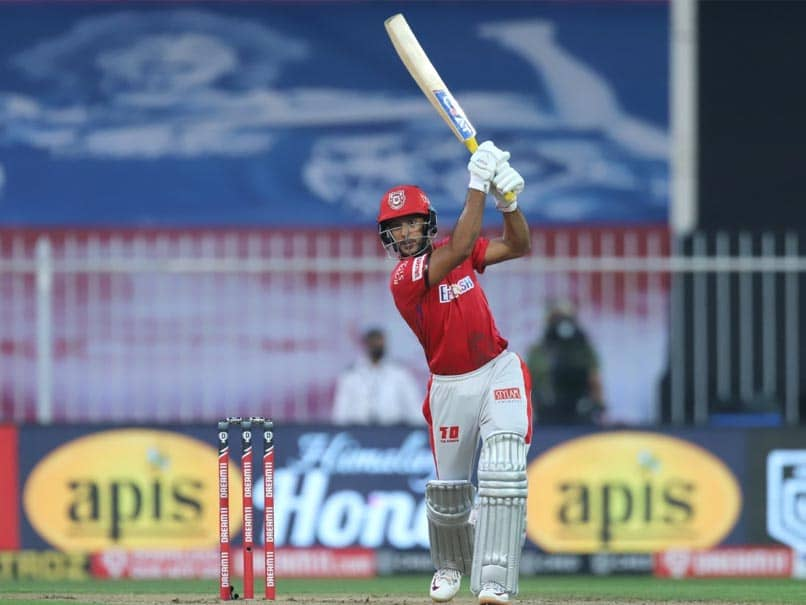 IPL 2020, RR vs KXIP: Mayank Agarwal Smashes Maiden IPL Century Off Just 45 Balls