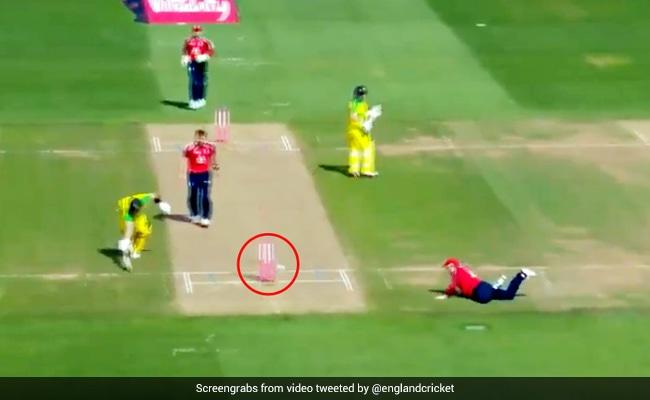England Vs Australia: रन चुरा रहे थे स्टीव स्मिथ, कप्तान मॉर्गन ने मारी स्टम्प्स पर गेंद और फिर... देखें Video