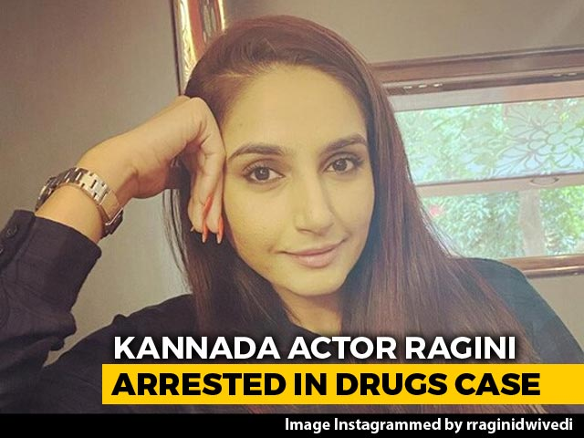 Video : Kannada Actor Ragini Dwivedi Arrested In Connection With Drugs Case