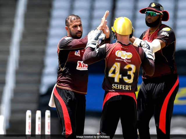 CPL 2020 LIVE Updates, TKR vs SLZ: Trinbago Knight Riders Set 155 To Win After Kieron Pollard 4-Wicket Haul