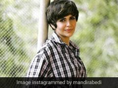 Bring Back Checks Like Mandira Bedi Did With A Cool Shirt Dress