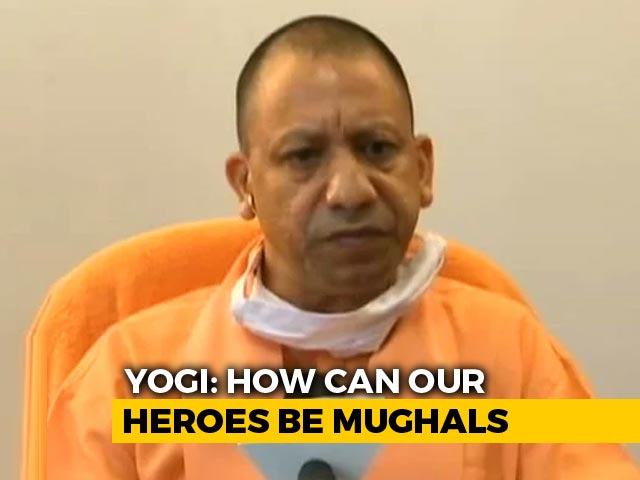 "Video : ""How Can Our Heroes Be Mughals"": Yogi Adityanath Renames Agra Museum"