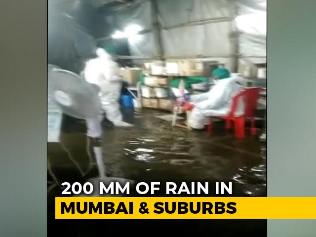 Video : Heavy Overnight Rains Flood Mumbai's Nair Hospital, A Covid Facility