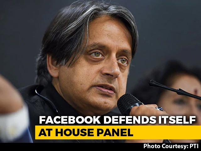 Video : More Discussions Later: Shashi Tharoor After Meeting Facebook India Chief