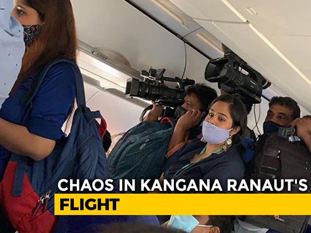 Video : Regulator Seeks IndiGo's Report On Media Chaos On Kangana Ranaut's Flight