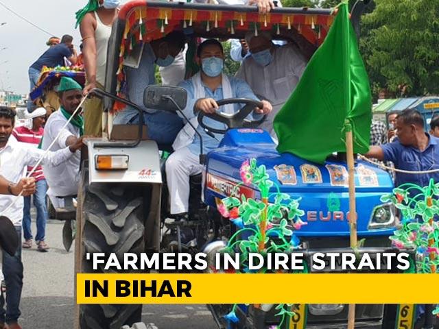 """Video : """"Agri Bills Are Anti-Farmer,"""" Says RJD's Tejashwi Yadav"""