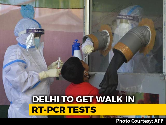 Video : Covid Tests Can Be Done Without Prescriptions In Delhi Now