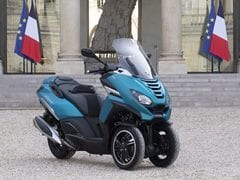 Mahindra-Owned Peugeot Motocycles' Metropolis Added To France's Presidential Fleet