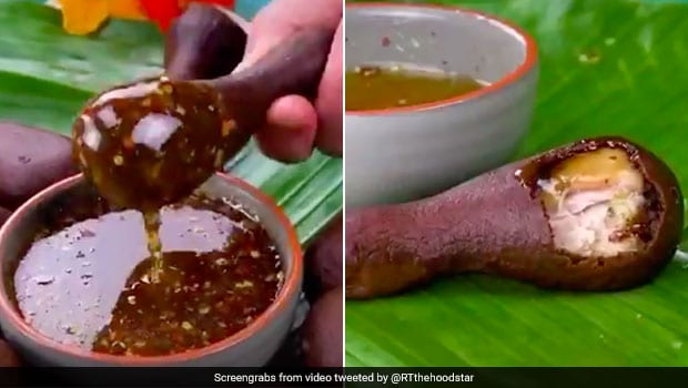 Viral Video Of Fried Chicken Dipped In Chocolate Has Netizens Aghast