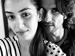 Shahid Kapoor And Mira Rajput Are The Definition Of Yin-Yang In This Pic