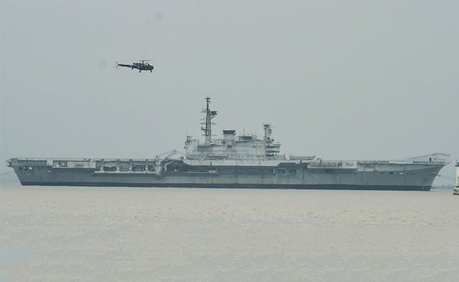 Aircraft Carrier Viraat On Final Voyage To Gujarat, Will Be Dismantled thumbnail