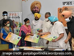 Punjab Chief Minister Launches Smart Ration Card Scheme To Cover 1.41 Crore Beneficiaries