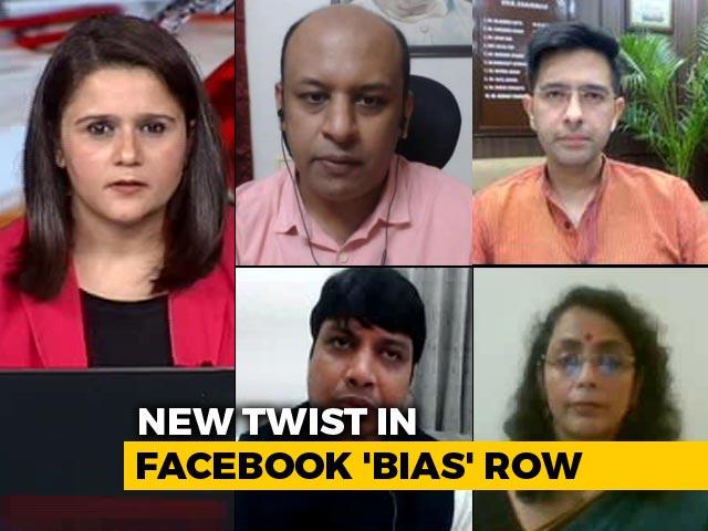 """Video : After Facebook's """"BJP Bias"""" Allegation, Centre Hits Back"""