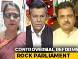 Video : Opposition Walks Out Of Lok Sabha In Protest Over Controversial Farm Bills