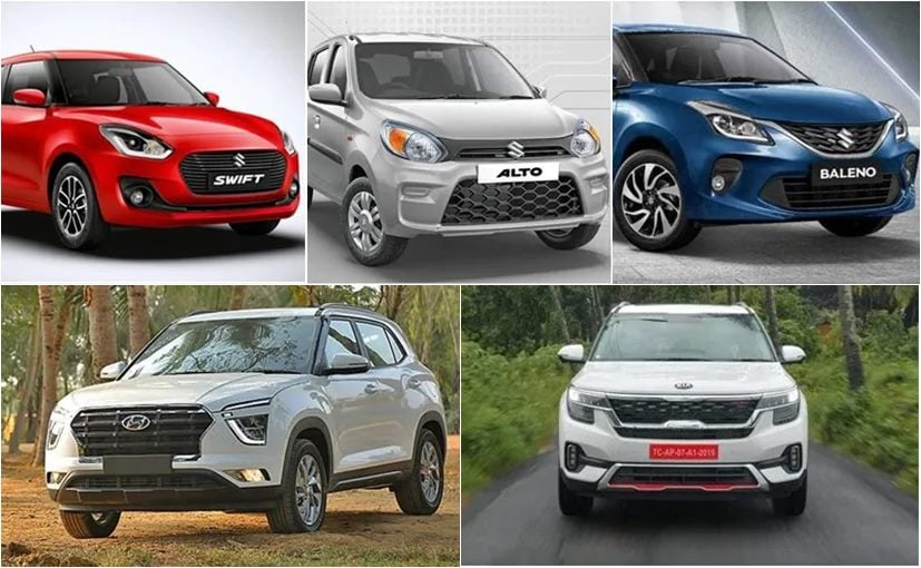 Maruti Suzuki India continues to dominate the ranking with 7 out of 10 models coming from its stable